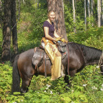 Guided Horse Riding at Mica Mountain Lodge