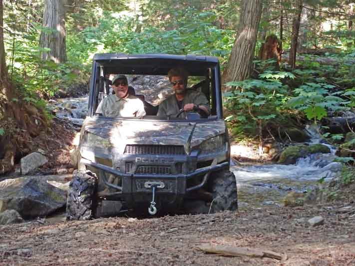 Side by Side ATV Tours