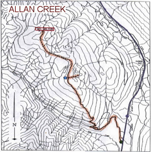 AllanCreek Trail Map