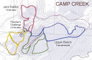 Camp Creek Map